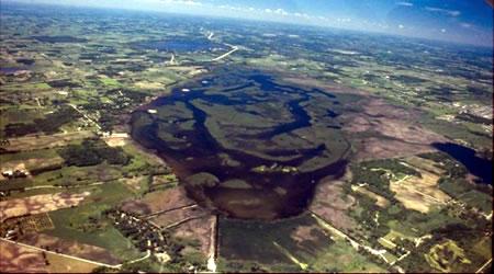 Big Muskego Lake, photo by Brian Glenzinski