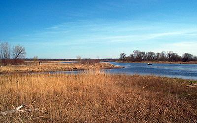 Lower Peshtigo River, photo by John Huff