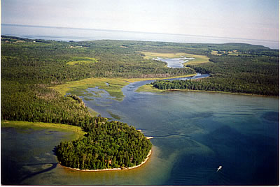 Mink River, photo by The Nature Conservancy