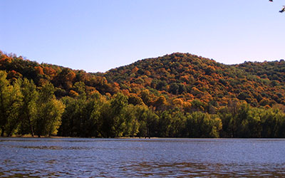 Wyalusing State Park, photo by Andy Paulios