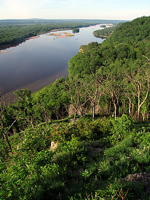 Lower Wisconsin River, photo by Mike Mossman